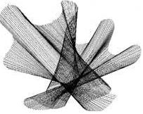 Formación de efectos curvos con trazos rectos